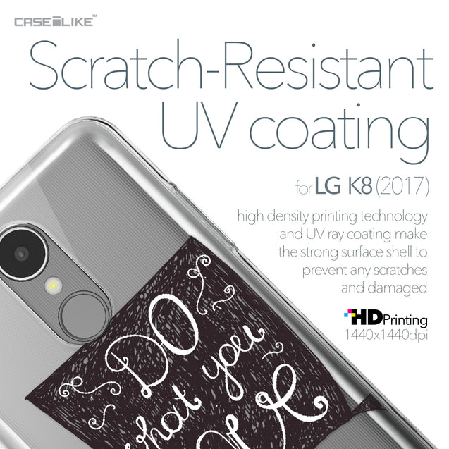 LG K8 2017 case Quote 2400 with UV-Coating Scratch-Resistant Case | CASEiLIKE.com