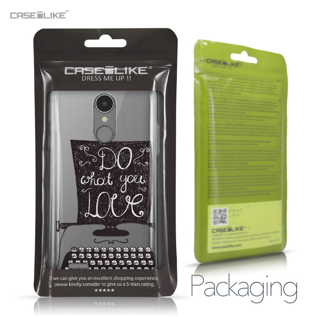 LG K8 2017 case Quote 2400 Retail Packaging | CASEiLIKE.com