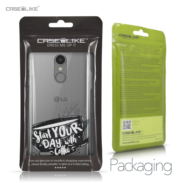 LG K8 2017 case Quote 2402 Retail Packaging | CASEiLIKE.com
