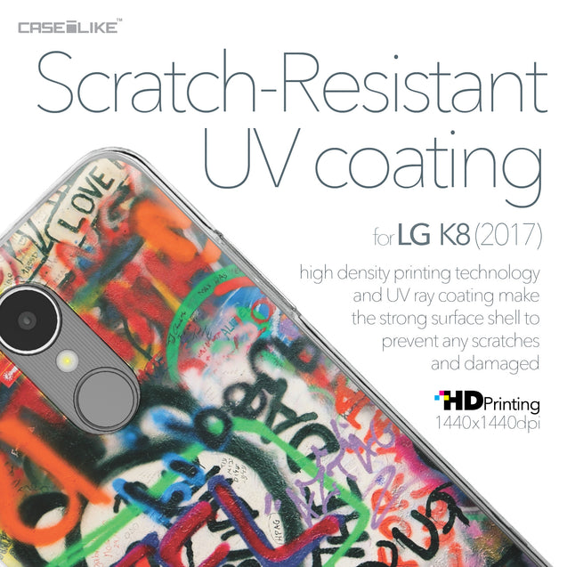 LG K8 2017 case Graffiti 2721 with UV-Coating Scratch-Resistant Case | CASEiLIKE.com