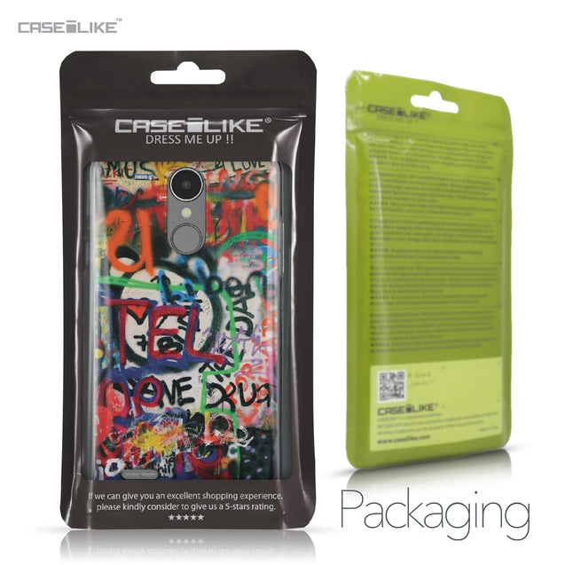 LG K8 2017 case Graffiti 2721 Retail Packaging | CASEiLIKE.com