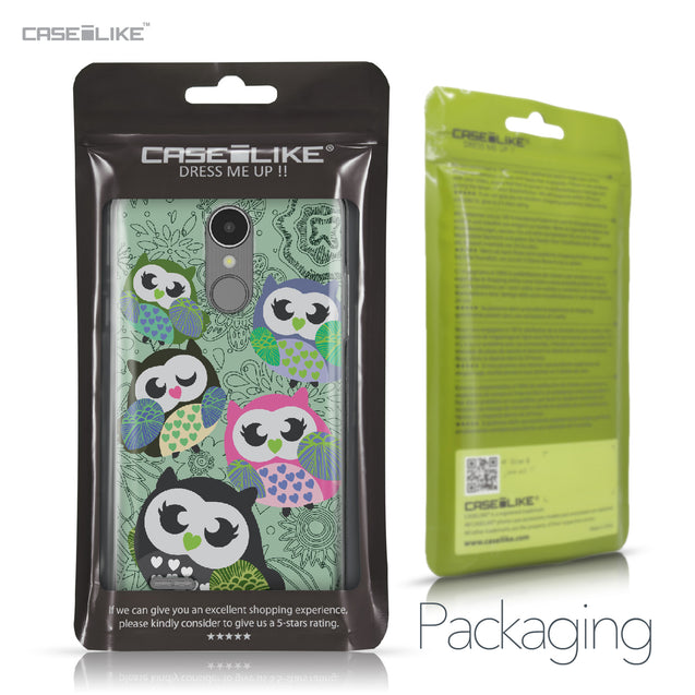 LG K8 2017 case Owl Graphic Design 3313 Retail Packaging | CASEiLIKE.com