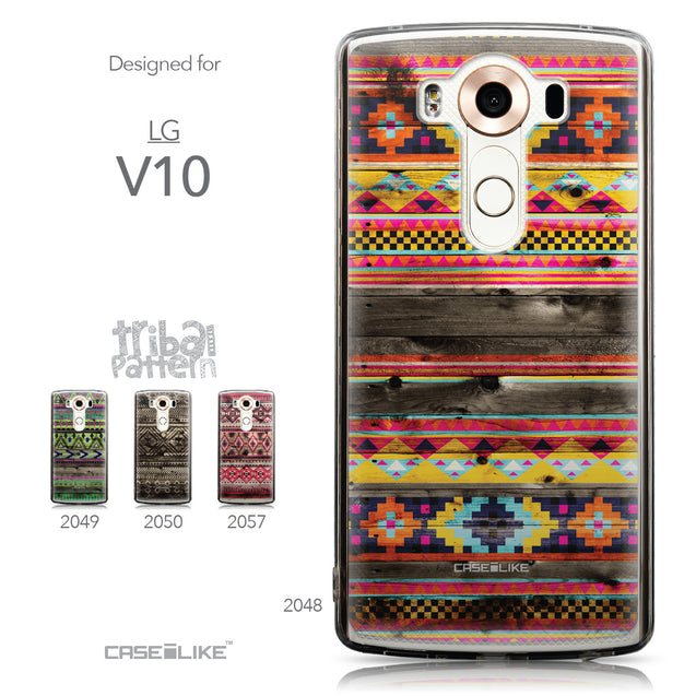 Collection - CASEiLIKE LG V10 back cover Indian Tribal Theme Pattern 2048