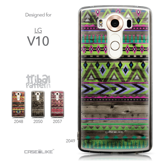 Collection - CASEiLIKE LG V10 back cover Indian Tribal Theme Pattern 2049