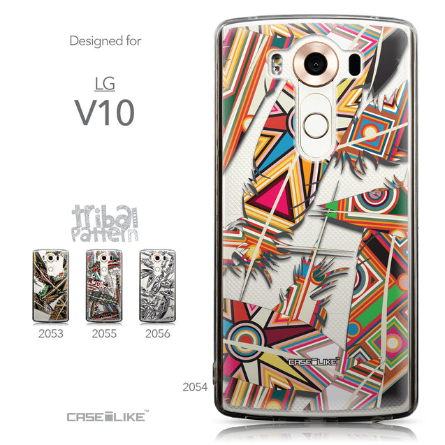 Collection - CASEiLIKE LG V10 back cover Indian Tribal Theme Pattern 2054