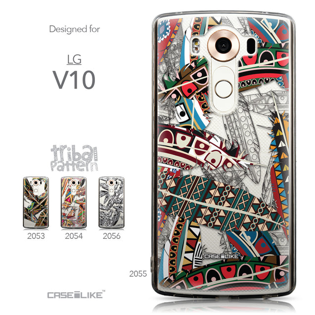 Collection - CASEiLIKE LG V10 back cover Indian Tribal Theme Pattern 2055