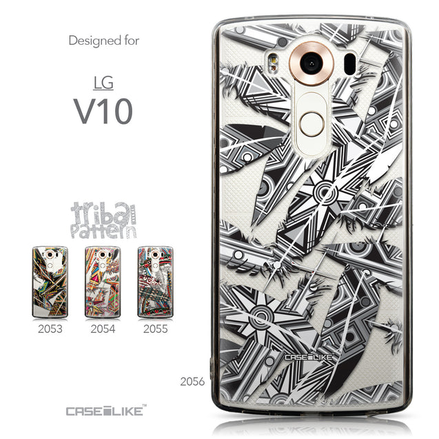 Collection - CASEiLIKE LG V10 back cover Indian Tribal Theme Pattern 2056