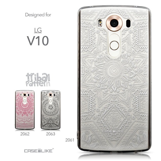 Collection - CASEiLIKE LG V10 back cover Indian Line Art 2061