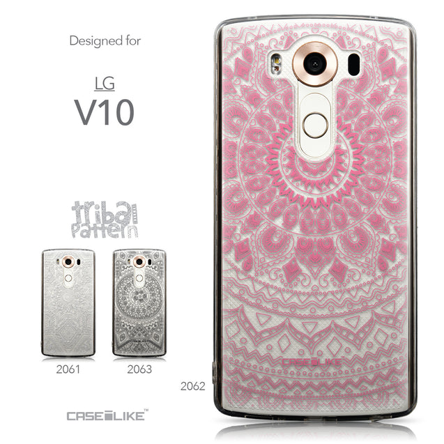 Collection - CASEiLIKE LG V10 back cover Indian Line Art 2062