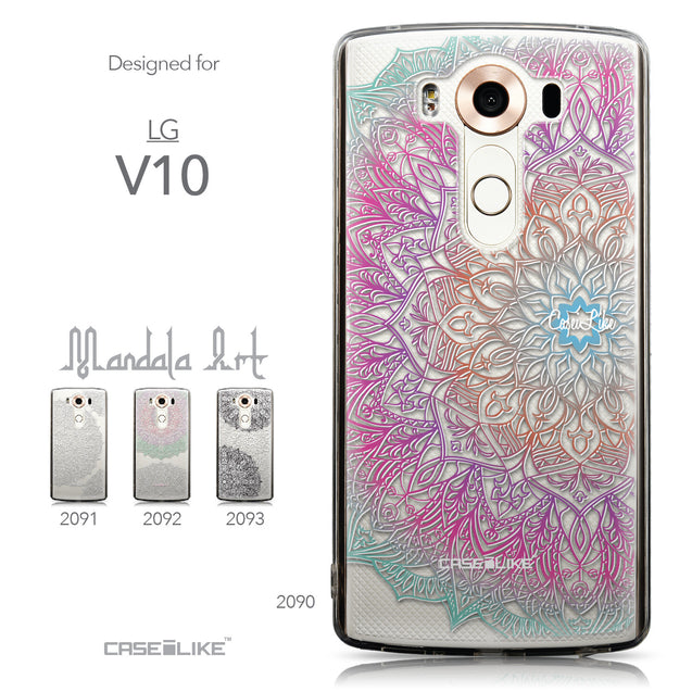 Collection - CASEiLIKE LG V10 back cover Mandala Art 2090
