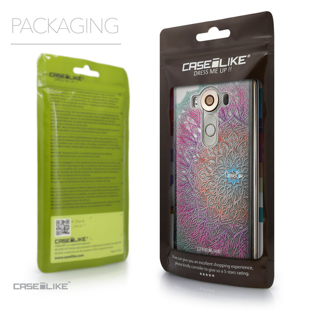 Packaging - CASEiLIKE LG V10 back cover Mandala Art 2090