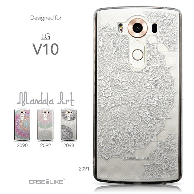 Collection - CASEiLIKE LG V10 back cover Mandala Art 2091