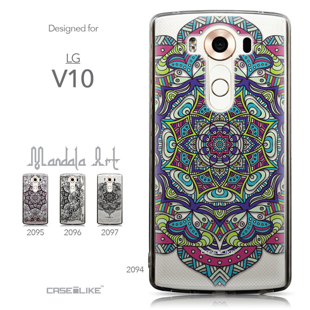 Collection - CASEiLIKE LG V10 back cover Mandala Art 2094