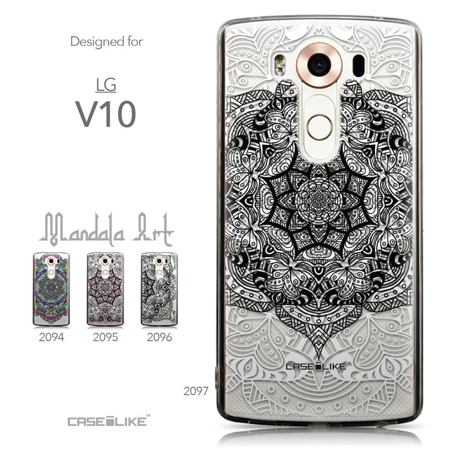 Collection - CASEiLIKE LG V10 back cover Mandala Art 2097