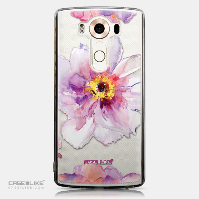CASEiLIKE LG V10 back cover Watercolor Floral 2231