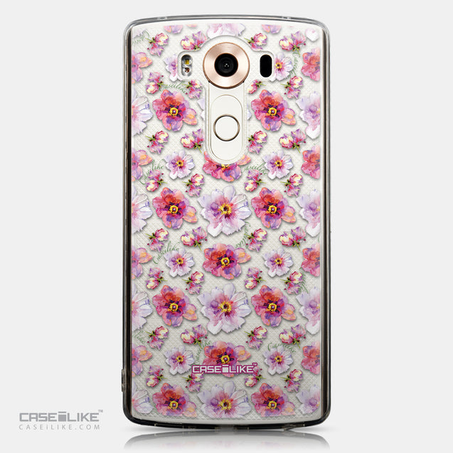 CASEiLIKE LG V10 back cover Watercolor Floral 2232