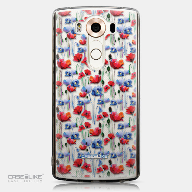 CASEiLIKE LG V10 back cover Watercolor Floral 2233