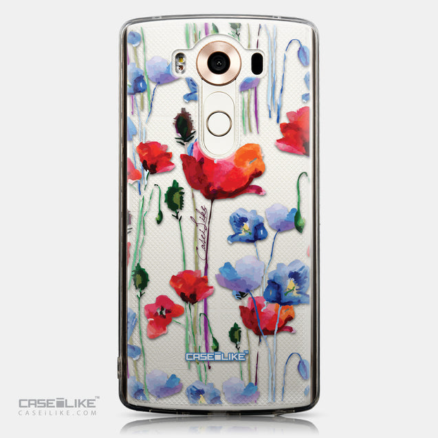 CASEiLIKE LG V10 back cover Watercolor Floral 2234