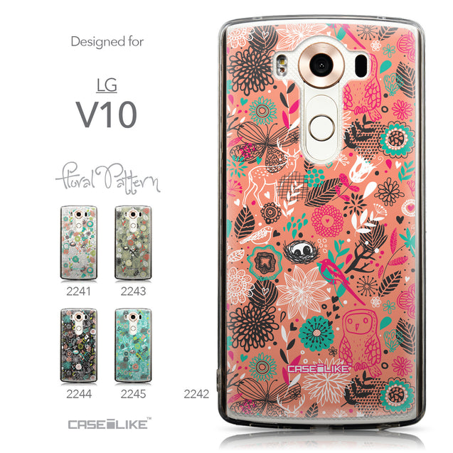 Collection - CASEiLIKE LG V10 back cover Spring Forest Pink 2242