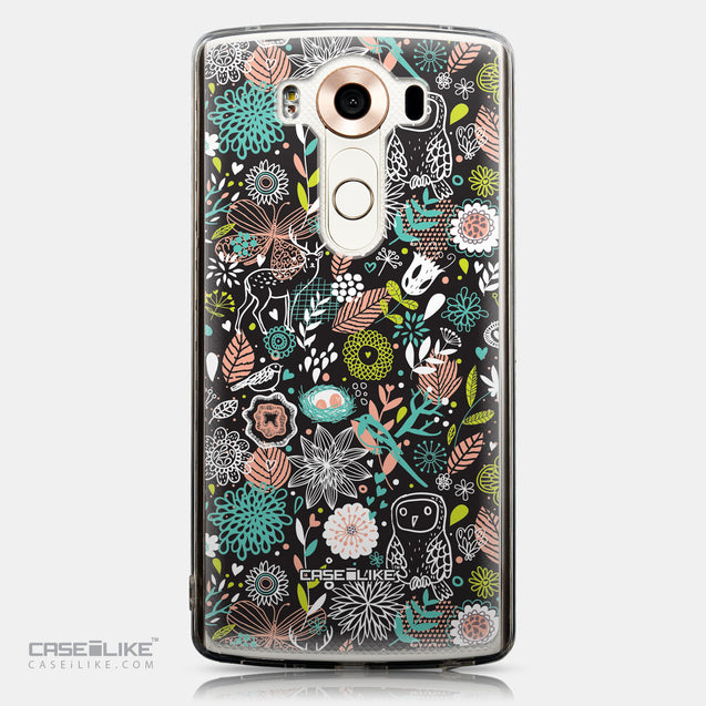 CASEiLIKE LG V10 back cover Spring Forest Black 2244