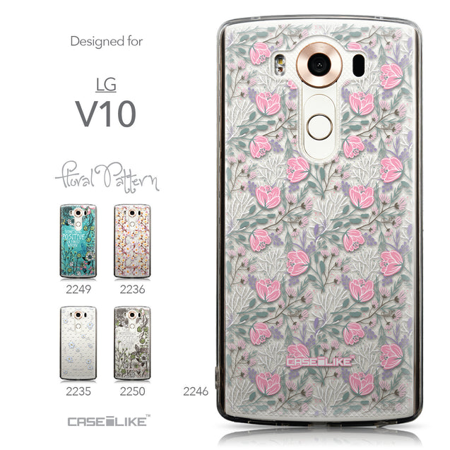 Collection - CASEiLIKE LG V10 back cover Flowers Herbs 2246