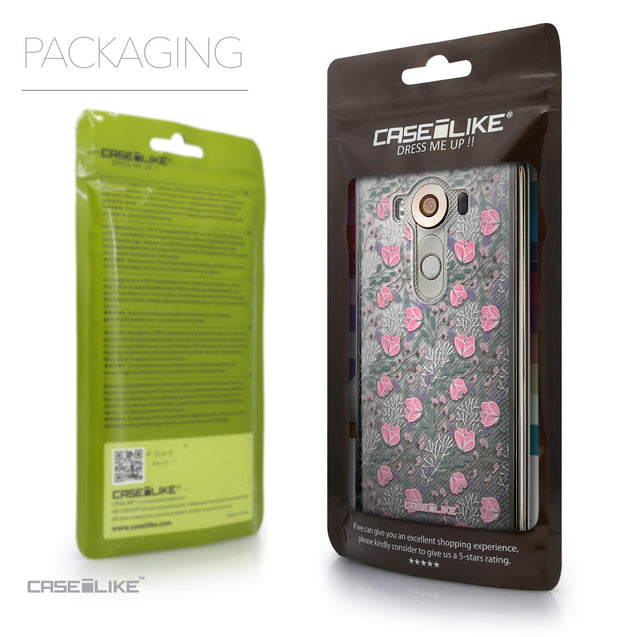 Packaging - CASEiLIKE LG V10 back cover Flowers Herbs 2246