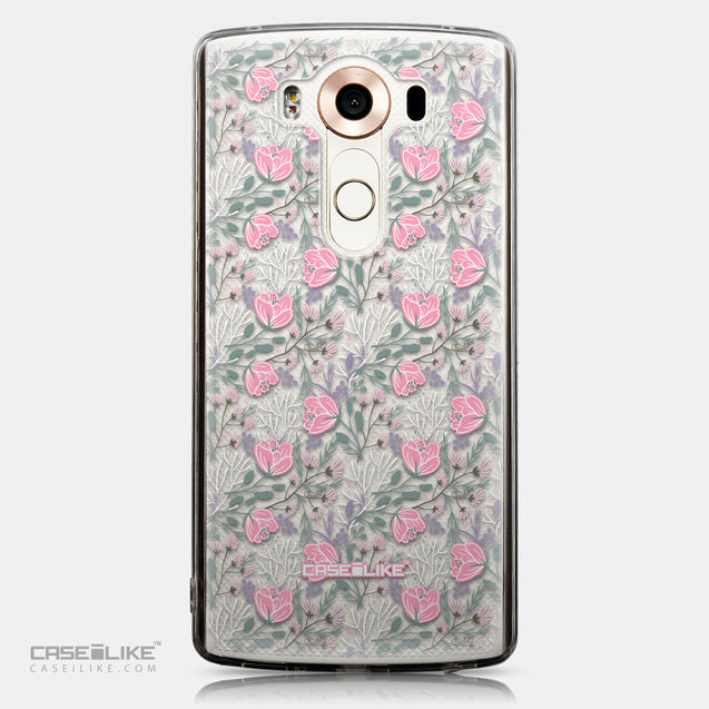 CASEiLIKE LG V10 back cover Flowers Herbs 2246