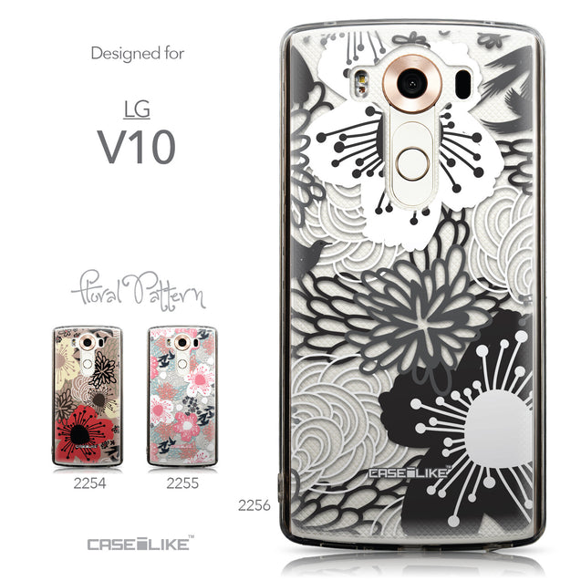Collection - CASEiLIKE LG V10 back cover Japanese Floral 2256