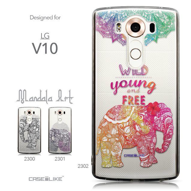 Collection - CASEiLIKE LG V10 back cover Mandala Art 2302