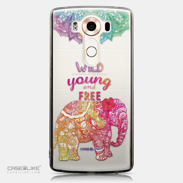 CASEiLIKE LG V10 back cover Mandala Art 2302