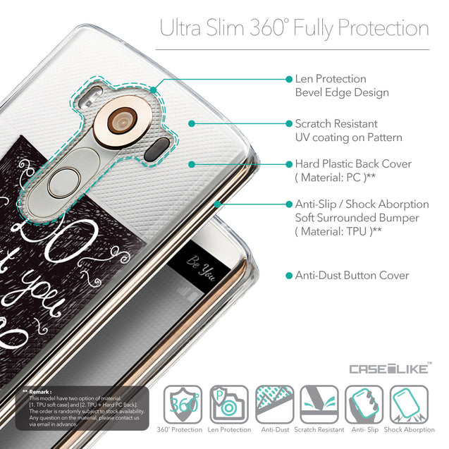 Details in English - CASEiLIKE LG V10 back cover Quote 2400