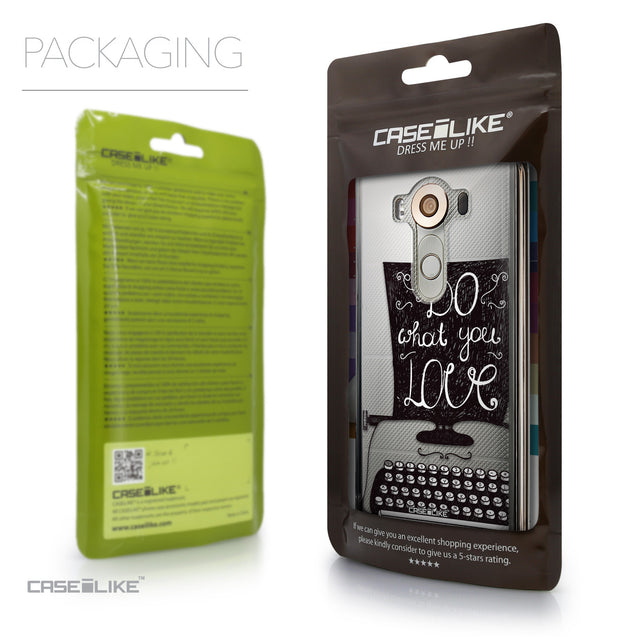 Packaging - CASEiLIKE LG V10 back cover Quote 2400