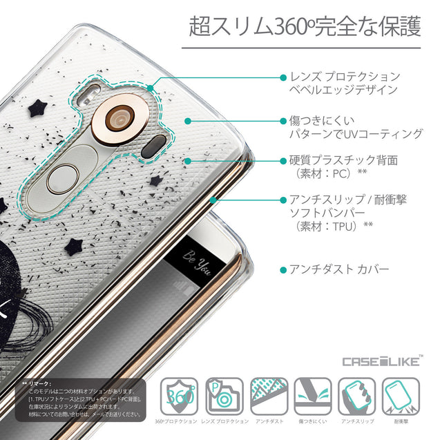 Details in Japanese - CASEiLIKE LG V10 back cover Quote 2401