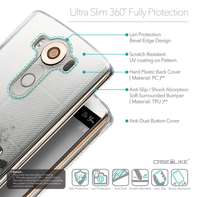 Details in English - CASEiLIKE LG V10 back cover Quote 2402