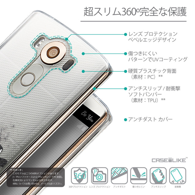 Details in Japanese - CASEiLIKE LG V10 back cover Quote 2402