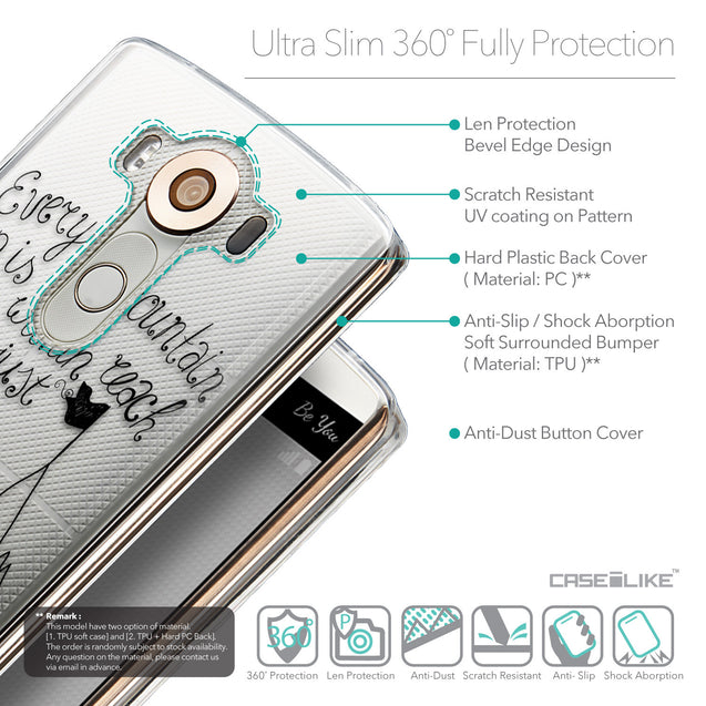 Details in English - CASEiLIKE LG V10 back cover Indian Tribal Theme Pattern 2053