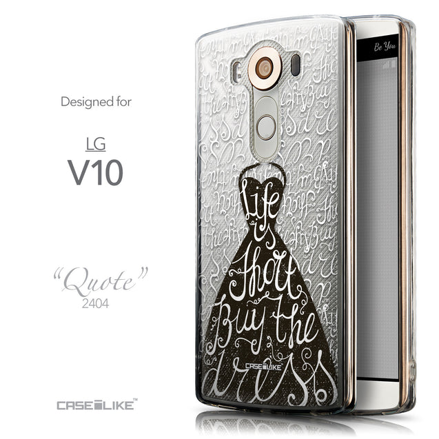 Front & Side View - CASEiLIKE LG V10 back cover Indian Tribal Theme Pattern 2053