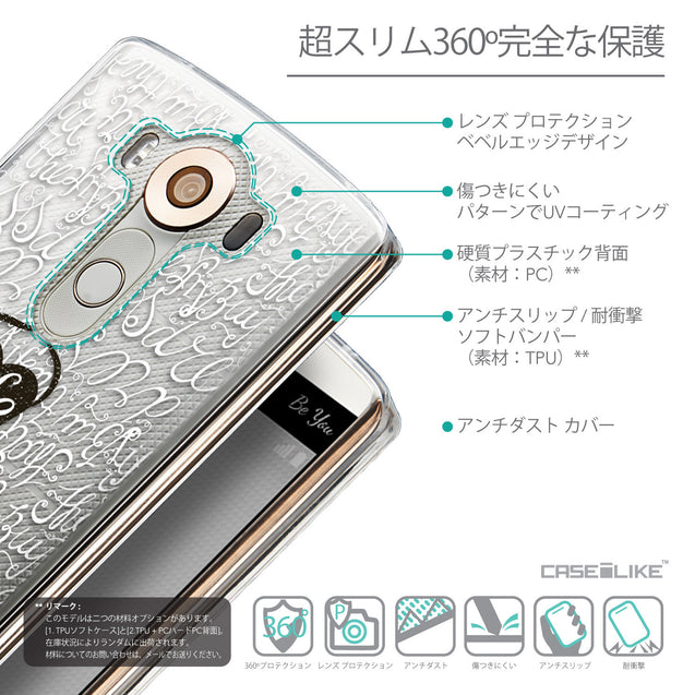 Details in Japanese - CASEiLIKE LG V10 back cover Indian Tribal Theme Pattern 2053