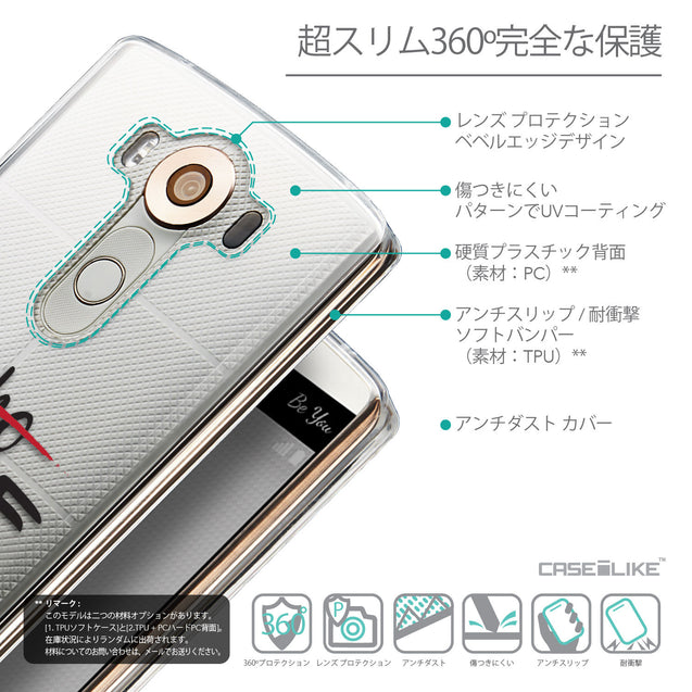 Details in Japanese - CASEiLIKE LG V10 back cover Quote 2405