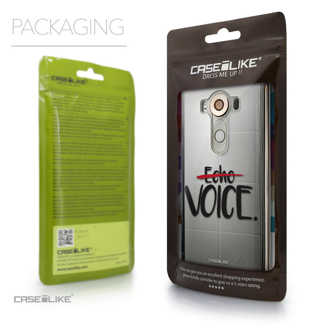 Packaging - CASEiLIKE LG V10 back cover Quote 2405