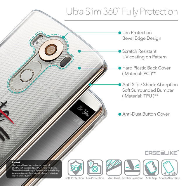 Details in English - CASEiLIKE LG V10 back cover Quote 2406