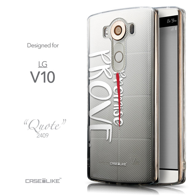 Front & Side View - CASEiLIKE LG V10 back cover Quote 2409