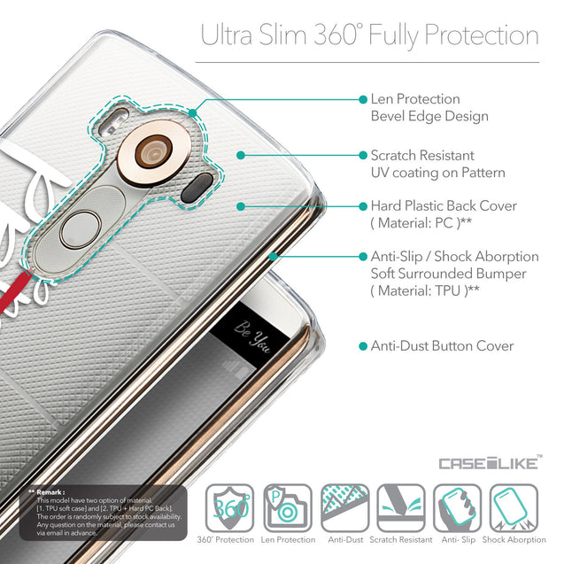 Details in English - CASEiLIKE LG V10 back cover Quote 2409
