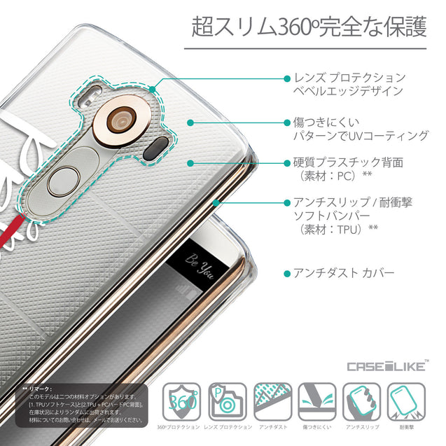 Details in Japanese - CASEiLIKE LG V10 back cover Quote 2409