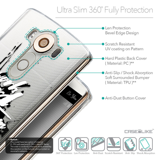 Details in English - CASEiLIKE LG V10 back cover Quote 2414