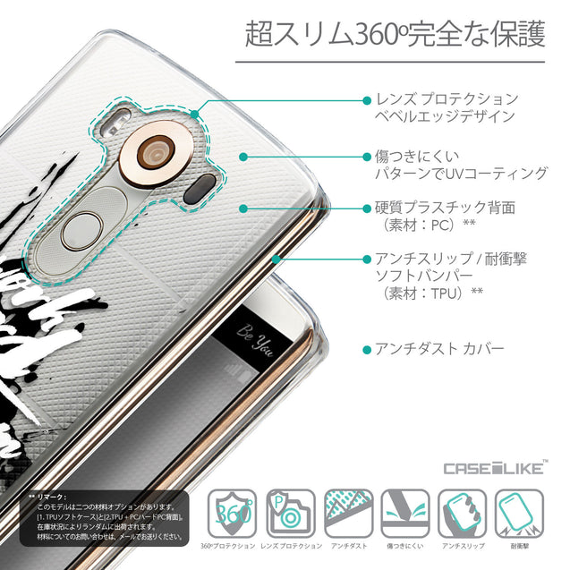Details in Japanese - CASEiLIKE LG V10 back cover Quote 2414