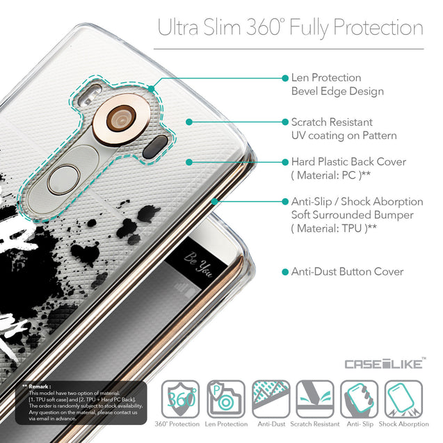 Details in English - CASEiLIKE LG V10 back cover Quote 2415