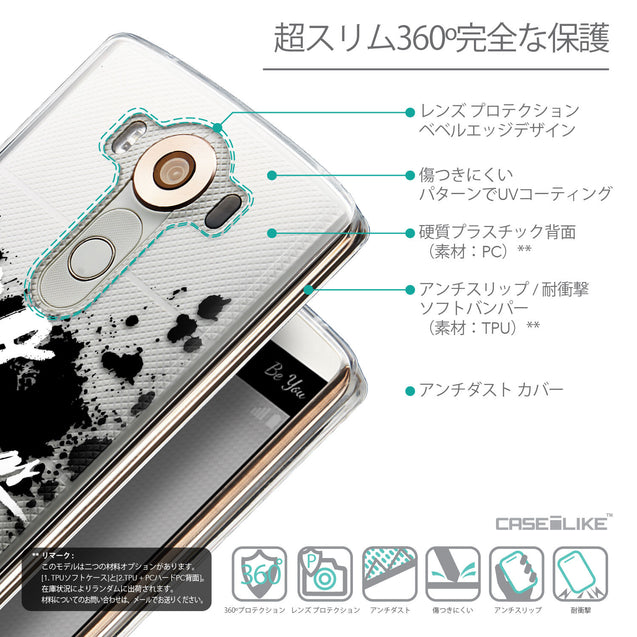 Details in Japanese - CASEiLIKE LG V10 back cover Quote 2415