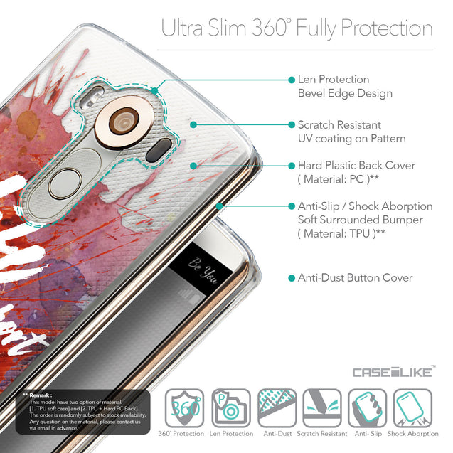 Details in English - CASEiLIKE LG V10 back cover Quote 2423