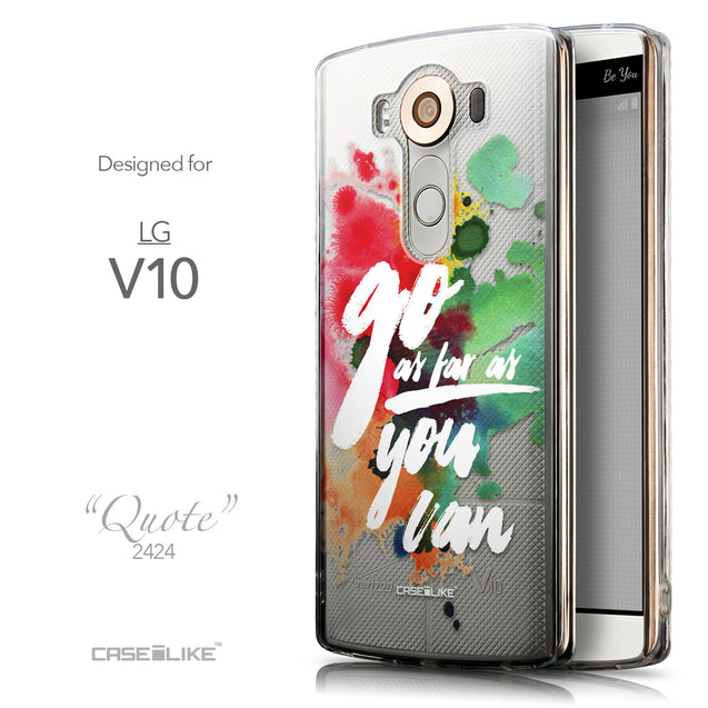 Front & Side View - CASEiLIKE LG V10 back cover Quote 2424